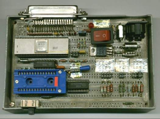 Программатор для пзу своими руками