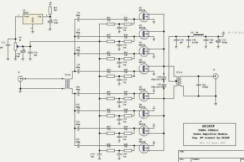 IRF510  lifier on simple audio amplifier schematic