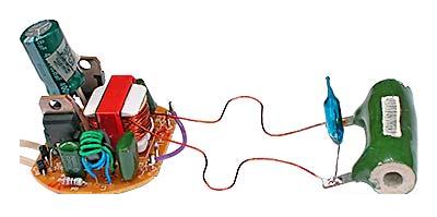 На картинке действующая модель БП