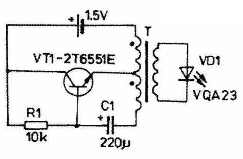 Частота блокинг-генератора