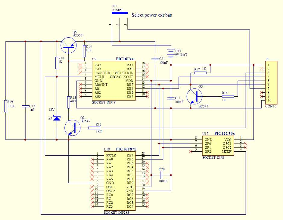 Адаптер для та-2 схема