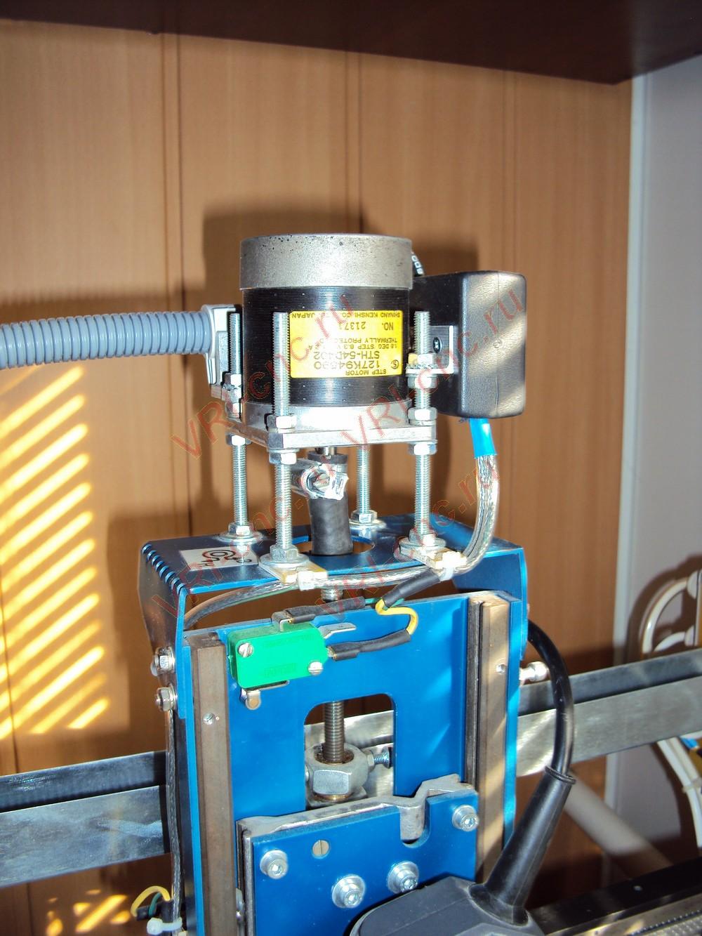 Самодельный станок на шаговых двигателях